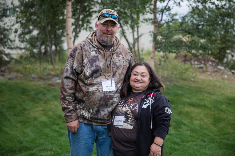 Army First Sergeant Kevin Buras and his wife Christine enjoyed a week of marriage enrichment at Samaritan Lodge.