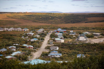 Mountain Village is an isolated community on the Alaska Tundra along the Yukon River.