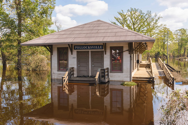 Hurricane Florence left many communities under water with flooding that threatened the Carolinas for days after the storm passed.