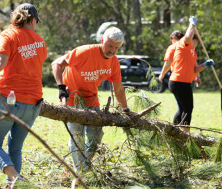 Volunteers continue to work in New Bern, Jacksonville, and Wilmington where Hurricane Florence caused devastated wind and water damage.