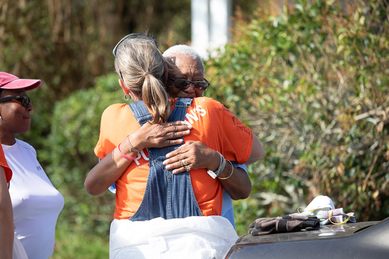 Volunteers who respond to disasters like Hurricane Florence have an amazing opportunity to share the love of Jesus with people experiencing unspeakable loss.