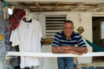 Raul Martinez Diaz watched his house being ripped apart by Hurricane Maria. Samaritan's Purse helped Raul rebuild.