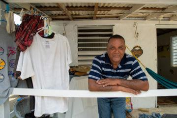 Raul Martinez Diaz watched his house being ripped apart by Hurricane Maria. Samaritan's Purse helped Raul rebuild.