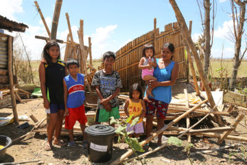 Samaritan's Purse taught proper hygiene and distributed hygiene kits to families affected by Typhoon Mangkhut in the Philippines' Cagayan Province.