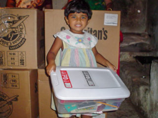 When Giftlin received her shoebox gift in South Asia at age 3, it taught her about God's love.