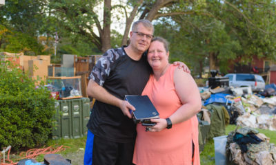 The Kulbergs are grateful Samaritan's Purse teams arrived when they did to help dig out in the wake of Hurricane Florence.