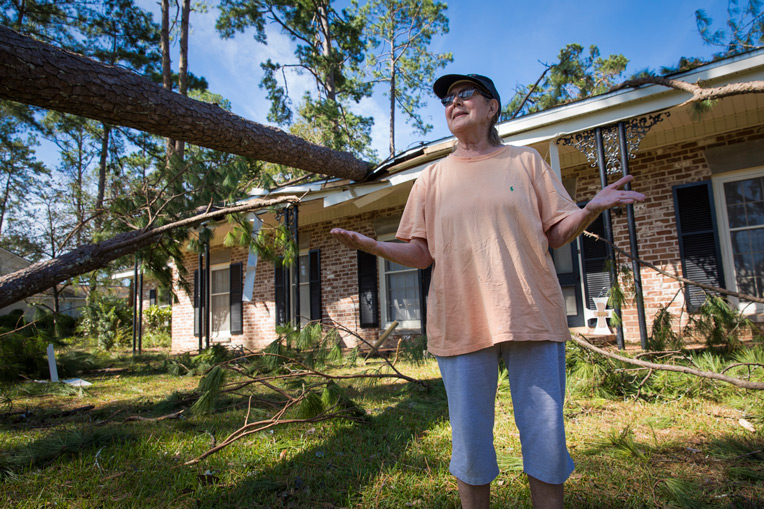 Trees crashed onto homes in Albany where Samaritan's Purse is assessing damage and deploying volunteer teams to do debris clean up in Jesus' Name.