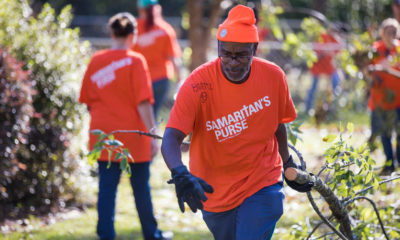 Samaritan's Purse volunteer teams are helping with clean up in Florida and Georgia.