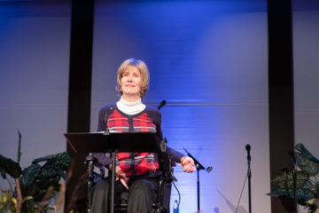 Joni Eareckson Tada injured her spinal cord more than 50 years ago, yet she continues to serve God and to share the hope of the Gospel with people who are suffering.