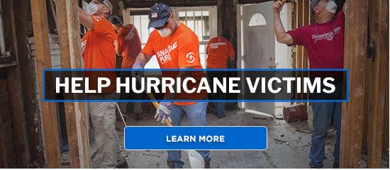 Help Hurricane Victims - Learn More