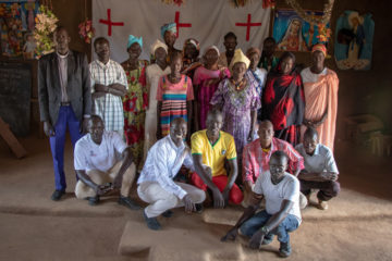 As a result of how God motivated them during their training from Samaritan's Purse, members of the local church in Aweil came to the aid of Abuk and her family.