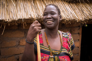 After receiving help from the church, Abuk accepted Christ as Savior and now radiates the joy of the Lord.