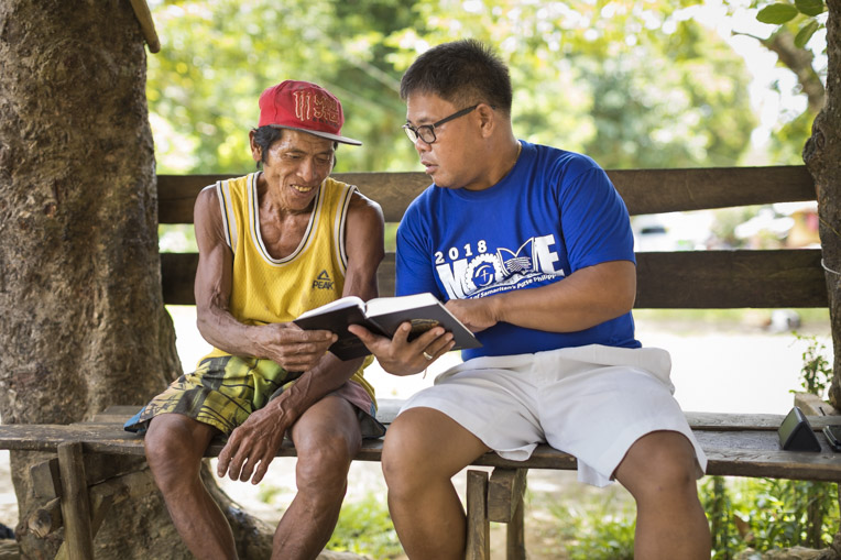 Bible study in the Philippines