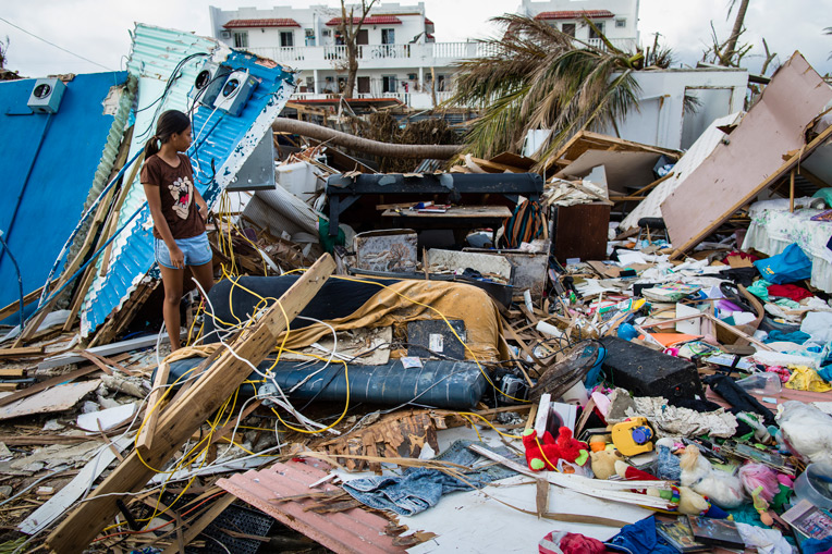 Super Typhoon Yutu left thousands of families on the islands of Saipan and Tinian without basic necessities like shelter, food, and water.