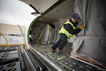 Samaritan's Purse is sending another planeload of relief supplies to Saipan aboard our DC-8 aircraft.