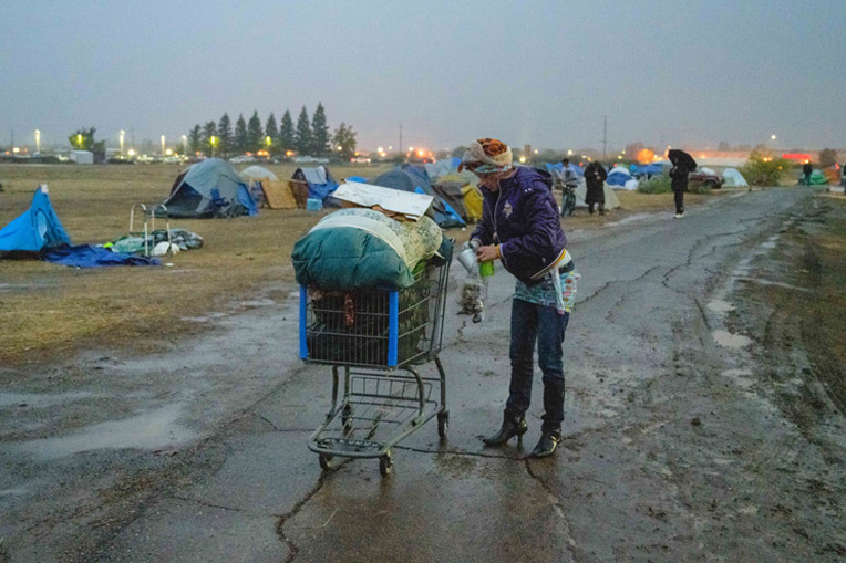 Butte County residents had to scramble for shelter after evacuating their homes during the Camp Fire.
