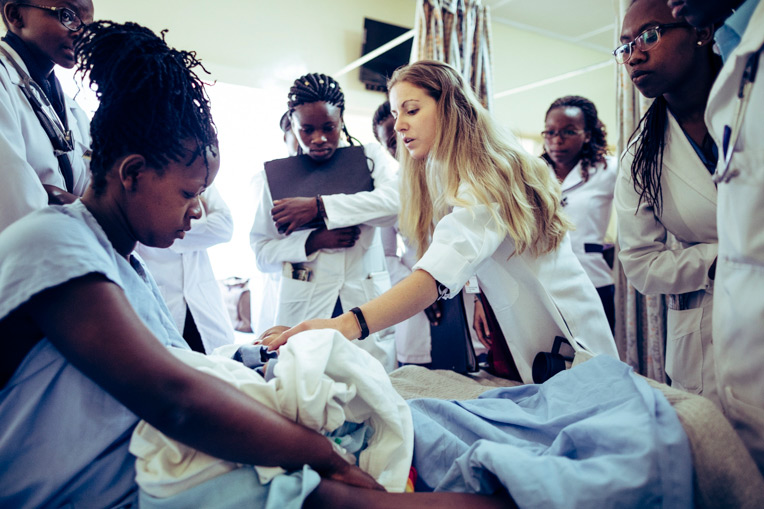Through our World Medical Mission Post-Residency program, Dr. Samantha Conroy is helping to provide excellent medical care in Jesus' Name at Kenya's Kijabe Hospital.