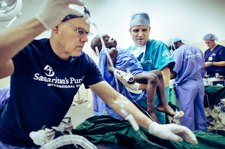Our cleft lip/palette surgical teams provided life-changing procedures for dozens of people in South Sudan, the first cleft surgery campaign Samaritan's Purse has conducted in the West African country.