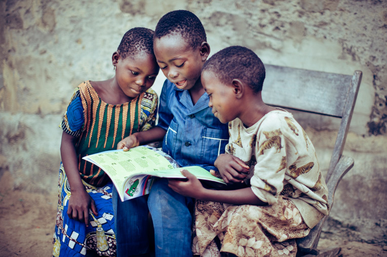 The the west African country of Togo, children learned about Jesus Christ through The Greatest Journey discipleship lessons.