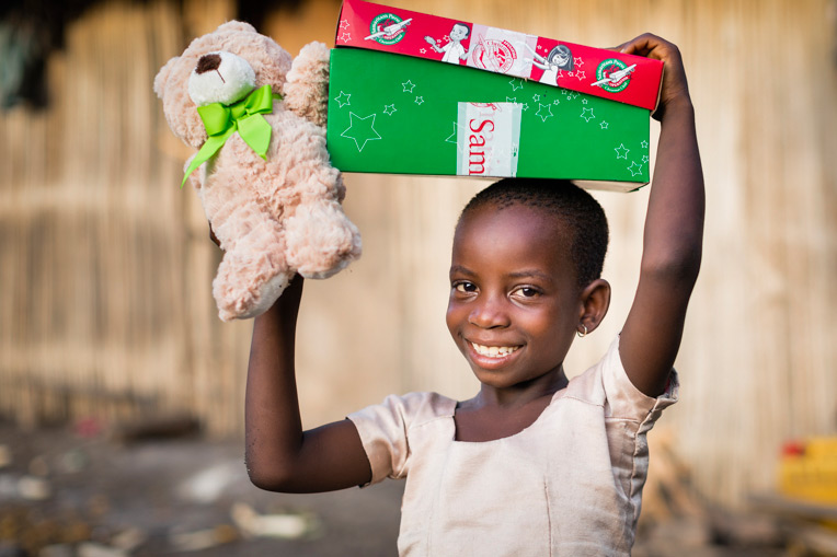 Through Operation Christmas Child, children in need in Togo heard and experienced the love of God through the Gospel of Jesus Christ.