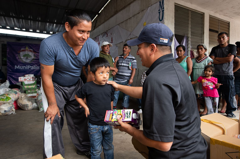 We worked with local ministry partners in Guatemala after Volcano Fuego erupted and forced thousands of residents to flee and damaged or destroyed more than 900 homes.