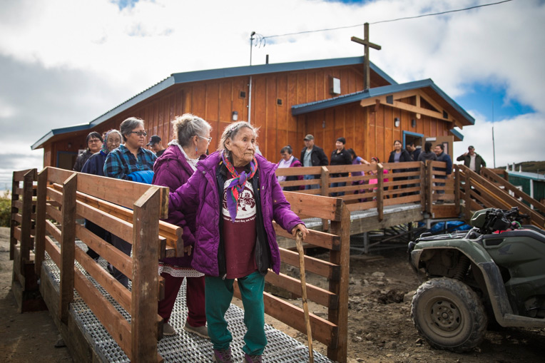 Samaritan's Purse recently completed its 29th building project in Alaska with a new church facility for Mountain Village Covenant Church.