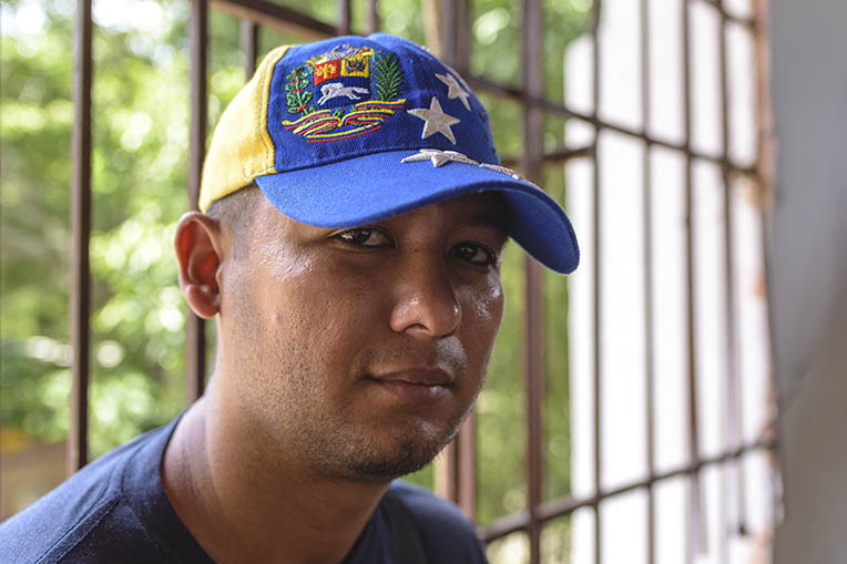Jorge left Venezuela in search of work because his family simply didn't have enough food.