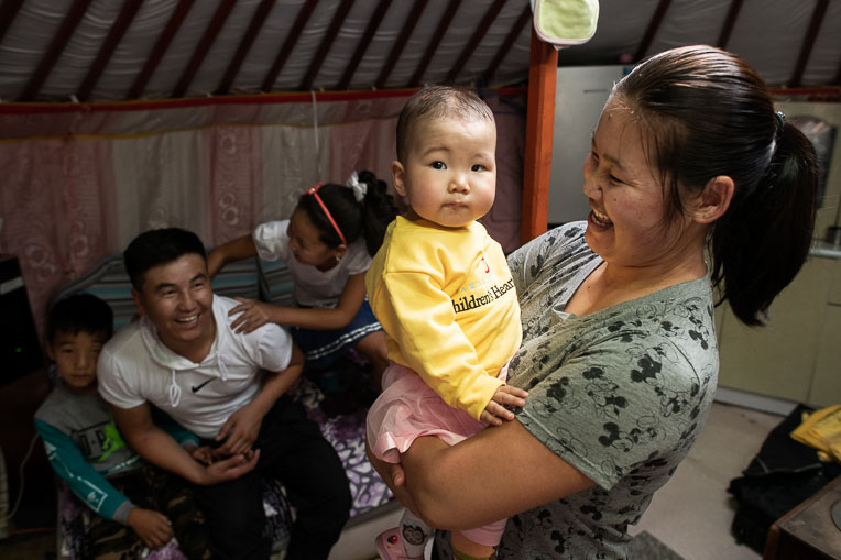 Sarana received lifesaving heart surgery through our Children's Heart Project. Sarana lives in Mongolia, where there was not a surgeon who could perform the complex procedure.