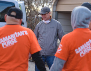 Long-time Samaritan's Purse volunteer John Mattera served earlier this year during our response to the Carr Fire. After losing his home in Butte County, he joined our volunteers in his hometown, serving this time in the midst of grief.