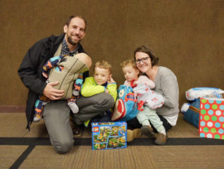Homeowners Heath and Megan Jarrett and their three young children attended Christmas Eve services at Paradise Alliance Church.