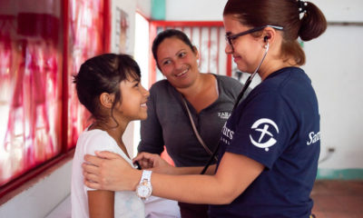 Patient from Venezuela at Colombia medical clinic
