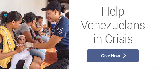 Help Venezuelans in Crisis - Give Now