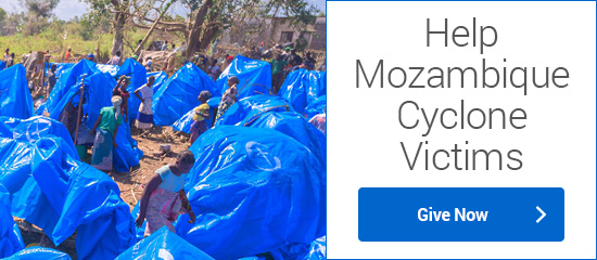 Help Mozambique Cyclone Victims - Give Now