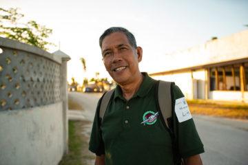 Pastor Manuelito Rey of Cornerstone Christian Church.