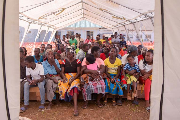 The need for urgent medical care in Mozambique is great following Cyclone Idai. Samaritan's Purse has already seen hundreds of patients.