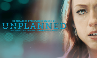 'Unplanned' movie--Article about Video of Franklin Graham interviewing lead actress Ashley Bratcher. video below
