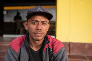 Alcides Graterol is one of tens of thousands of Venezuelans who have passed through our shelters in Colombia.