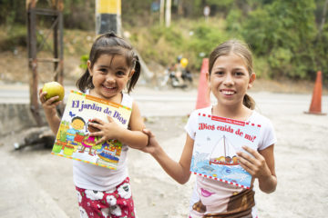 Marlenis and her cousin came through our La Don Juana shelter earlier this year.