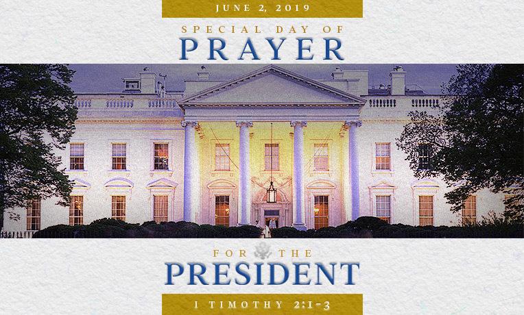 Pray for the President on June 2