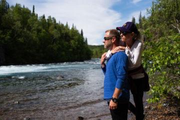Shannon and Shannon Huddleston left Alaska encouraged and hopeful for the future.