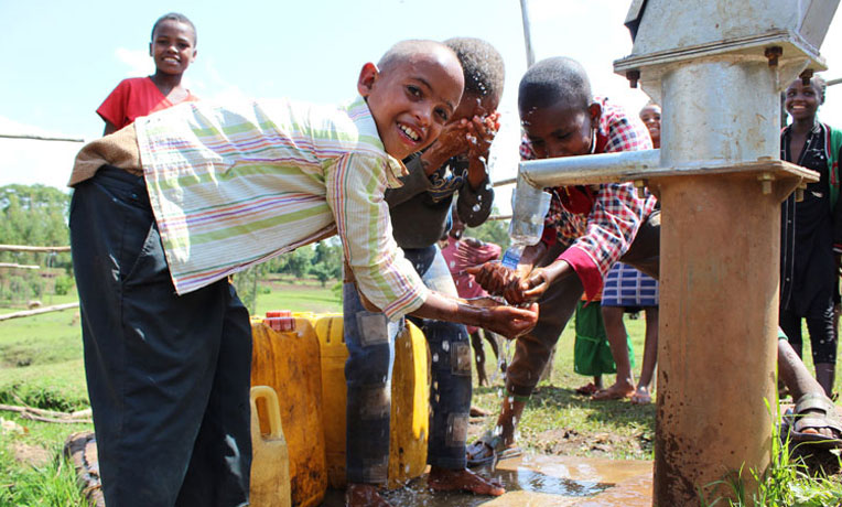 Providing clean water in Jesus' Name in rural Ethiopia is restoring hope and a brighter future.