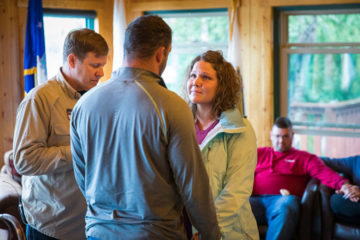 Joe and Brittany recommitted their marriage to God at the end of their week in Alaska.
