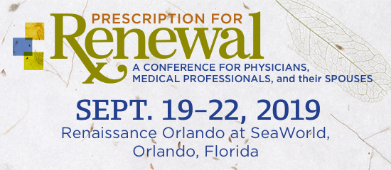 Reserve your space - Prescription for Renewal Conference - September 19–22, 2019 - Orlando Florida