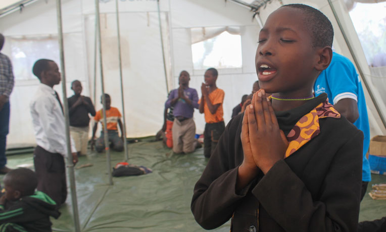 Our trauma healing project is helping children in Uganda learn how to grieve and process their stories as refugees from the Democratic Republic of the Congo.