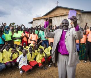 Church rebuild in Akuem, South Sudan