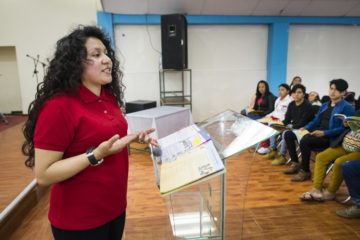 Jamyleth trains teachers to lead The Greatest Journey.