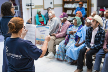 The Gospel was shared with patients in both Tarahumara and Spanish.