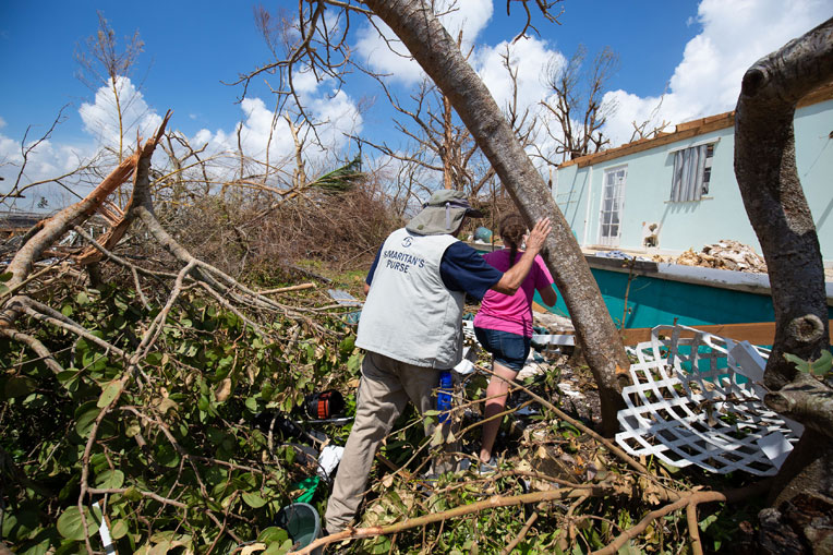 Samaritan's Purse teams are assessing the damage on Abaco.