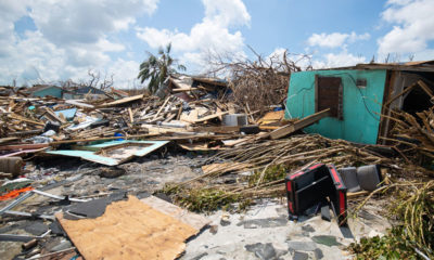 Thousands of homes were destroyed on Abaco and Grand Bahama Islands.