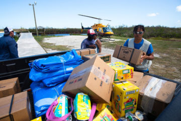 Samaritan's Purse is delivering critically needed relief to residents of the Bahamas.